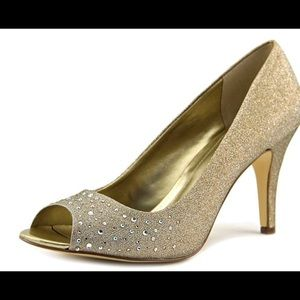 Style & Co. Gold Heels